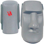 Easter Island Head Stress Balls